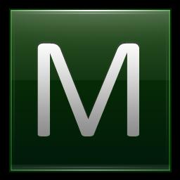 Dark Green Icon   Alphabet Icons   Softicons Com