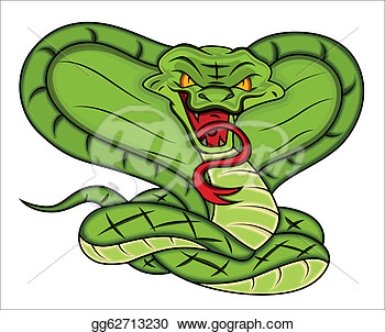 Stock Illustration   Conceptual Design Art Of Mascot Of Angry Snake