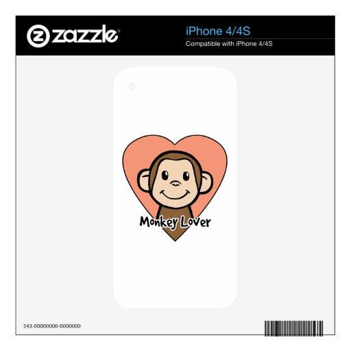 4s Clipart Cute Cartoon Clip Art Smile Monkey Love In Heart Iphone 4s