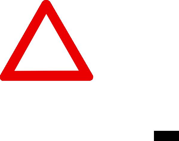 Blank Warning Sign Clip Art At Clker Com   Vector Clip Art Online