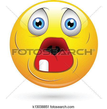 Clipart   Dumb Old Face With Open Mouth  Fotosearch   Search Clip Art