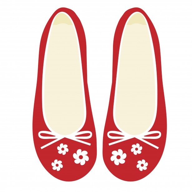 Clip Art Red Shoes Clipart - Clipart Kid