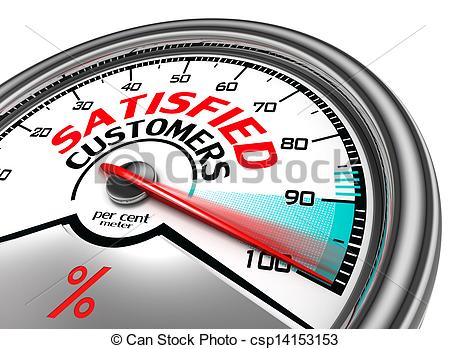 customer satisfied Guest post: harvey hammond customer satisfaction is difficult to measure due to several reasons counting on customer satisfaction owing to their feedback is not the case because most people prefer keeping quiet when satisfied.
