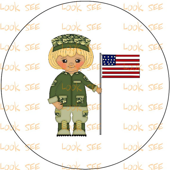Items Similar To Army Military Clipart Clip Art Instant Digital