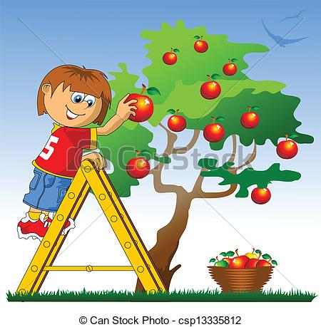 Apple- Picking Clipart - Clipart Suggest