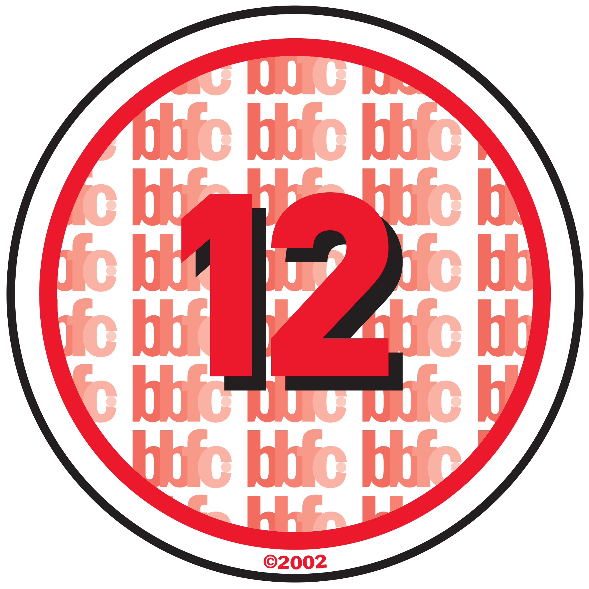 number 12 years old clipart