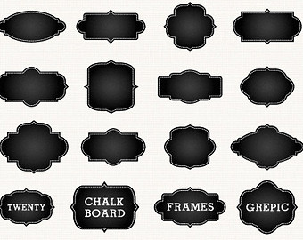 Chalkboard Plaque Clipart - Clipart Kid
