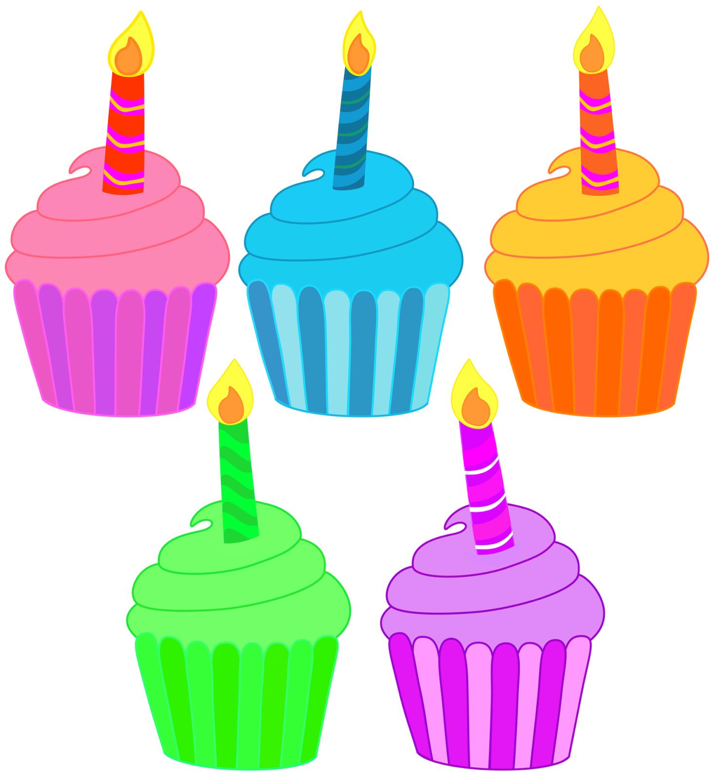 Clip Art Birthday Cupcake Clipart june birthday cupcake clipart kid classroom treasures cupcakes