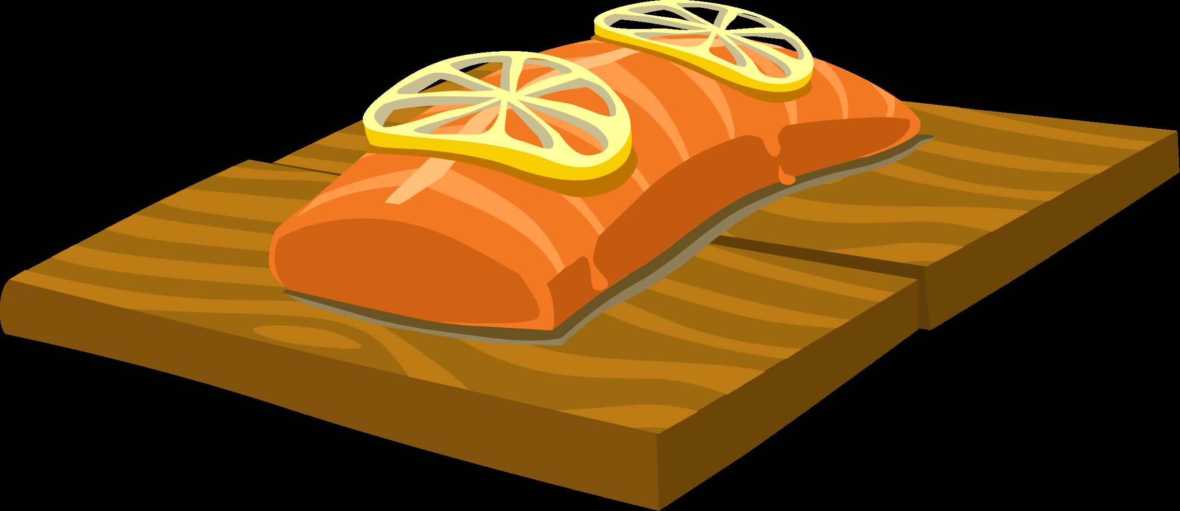 Clip Art Salmon Clip Art salmon clipart kid food cedar plank by glitch