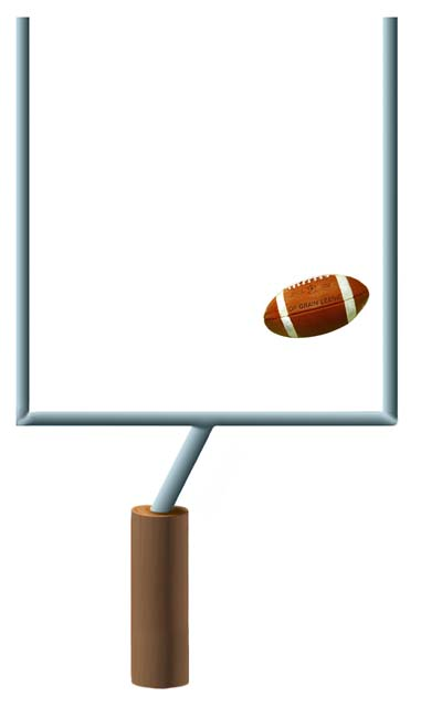 Football Goal Post Clipart - Clipart Suggest