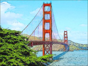 Golden Gate Bridge Clipart Honeymoon Clipart - Clipart Kid