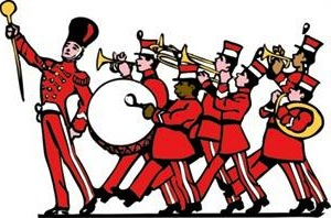 Marching Band Instruments Clipart Marching Band Instruments Clipart