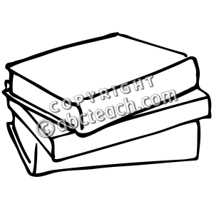 Of Books Clipart Black And White   Clipart Panda   Free Clipart Images