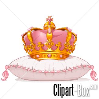 Related Queen S Crown On Pillow Cliparts