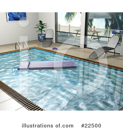 Swimming Pool Clipart  22500 By Kj Pargeter   Royalty Free  Rf  Stock