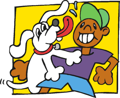 Animals Dogs Cartoon Dogs Cartoon Dogs 2 Dog Playing With Boy Png Html