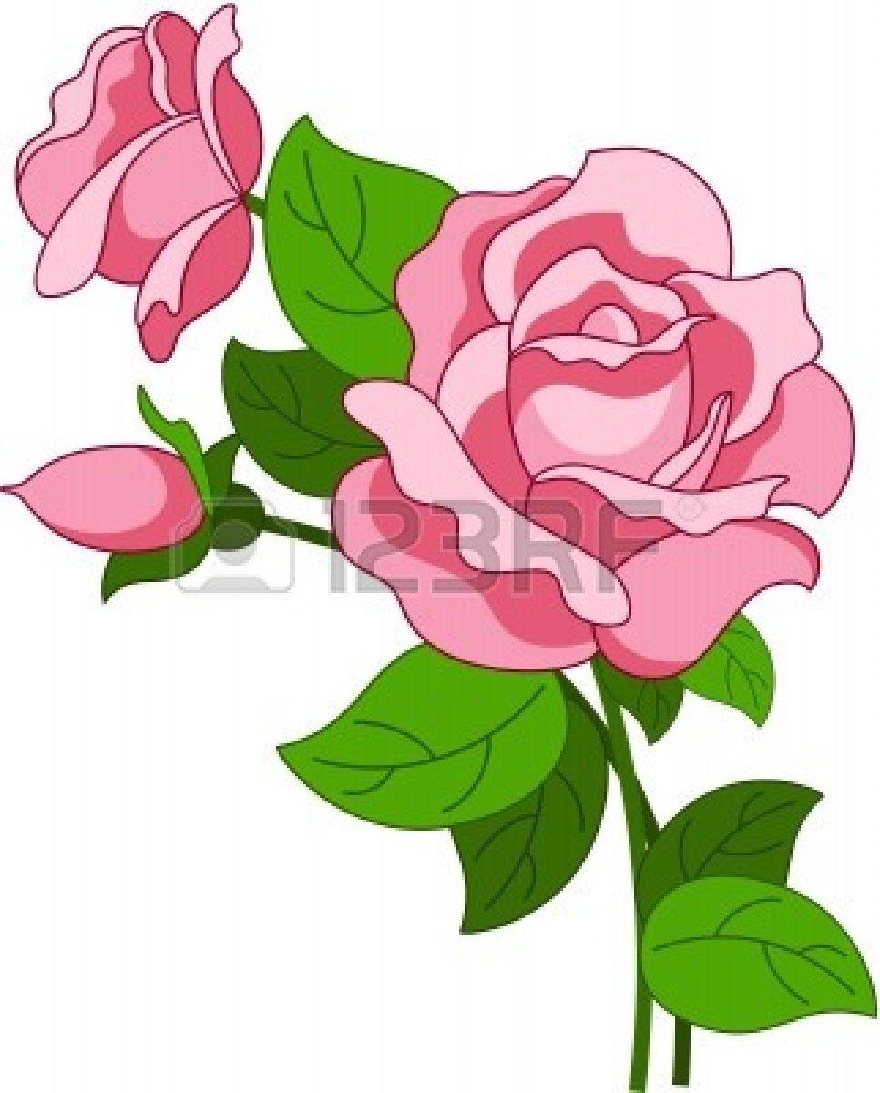 images of animated white roses - photo #26