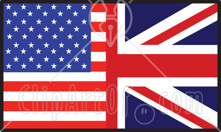 British And American Flag Usa   Cockroach Britain