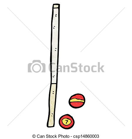 Pool Cue Illustrations And Clipart Success
