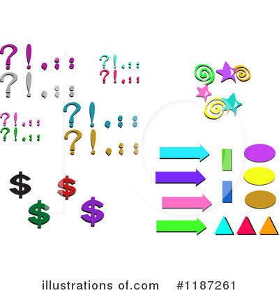 Punctuation Clipart  1187261 By Bpearth   Royalty Free  Rf  Stock
