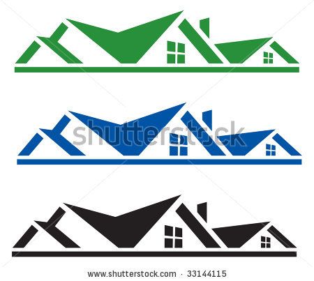Roofing Logo Clipart - Clipart Kid