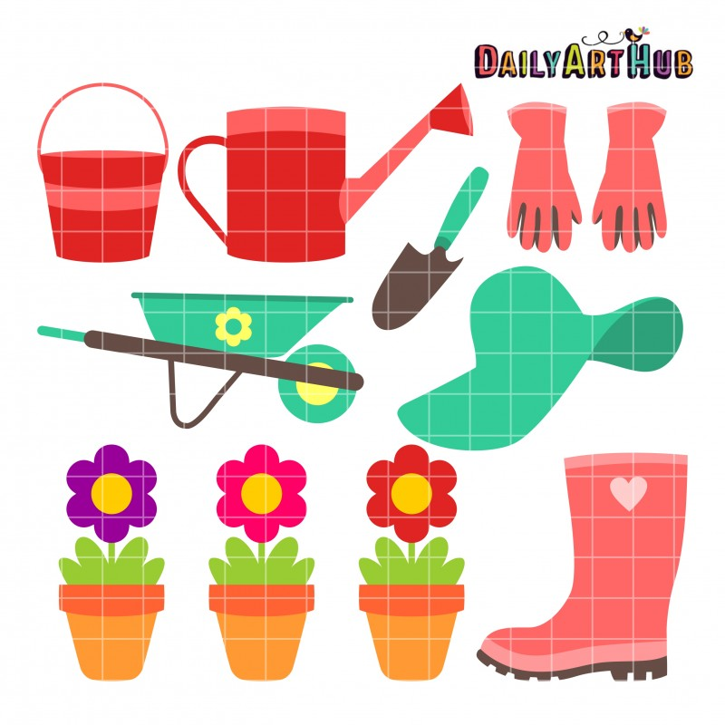 Scrapbooking Embroidery Digitizing Papercrafts And More  Garden Set