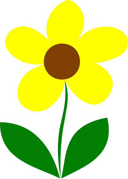 yellow flower vector png - photo #8