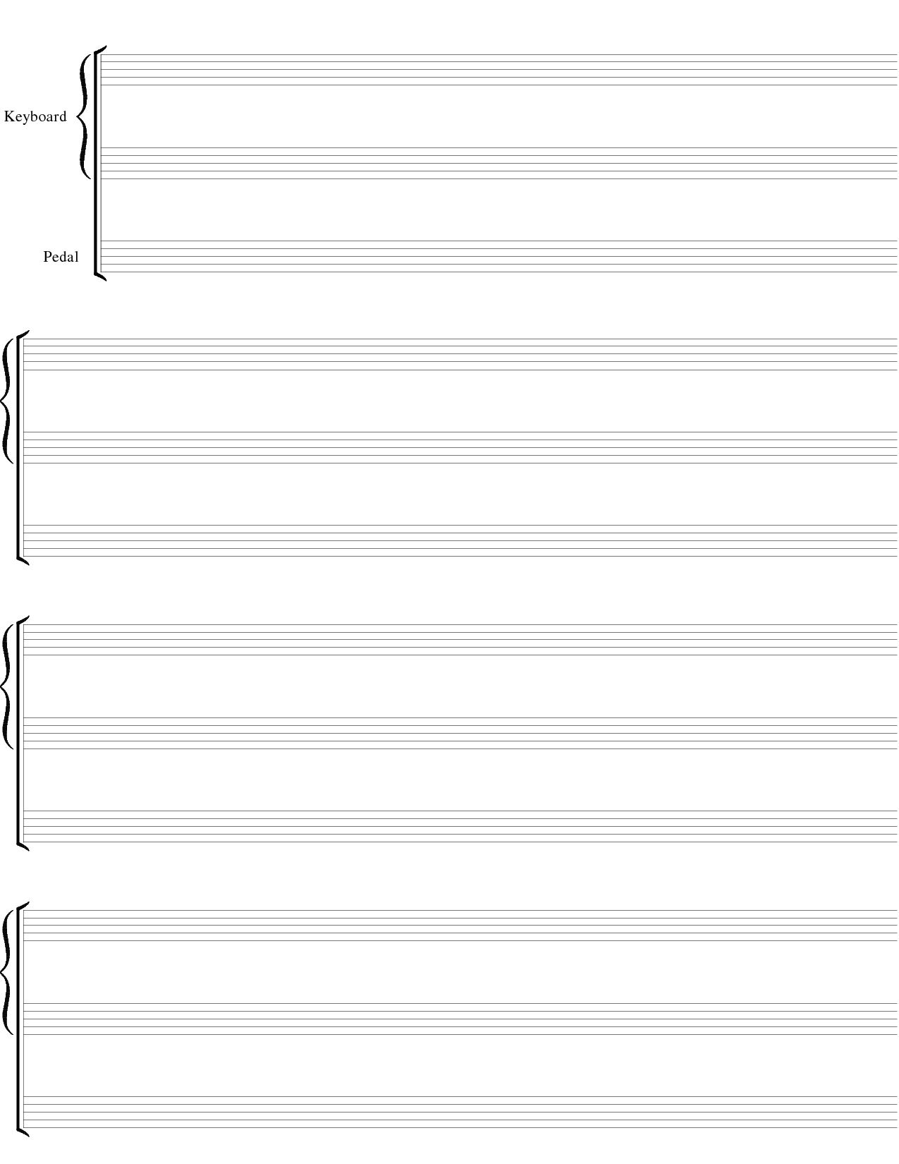 Blank Sheet Music Png Images   Pictures   Becuo