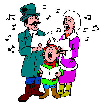 Christmas Singers Clipart - Clipart Suggest