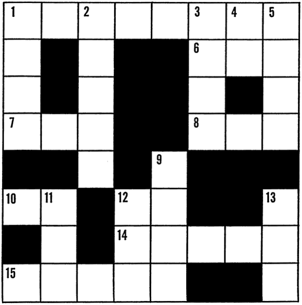 Crossword   Http   Www Wpclipart Com Recreation Games Crossword