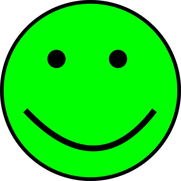 Green Smiley Face Png   Clipart Panda   Free Clipart Images