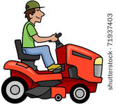 Lawn Mower Clip Art Lawn Mower Clip Art Cartoon Push Reel Lawn Mower