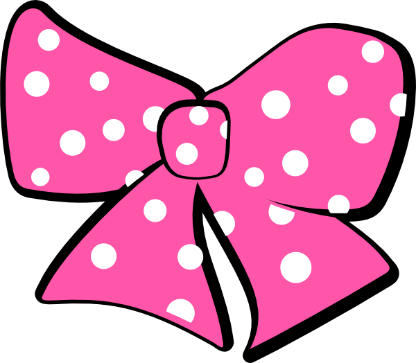 Minnie Mouse Bow Clip Art At Clker Com   Vector Clip Art Online