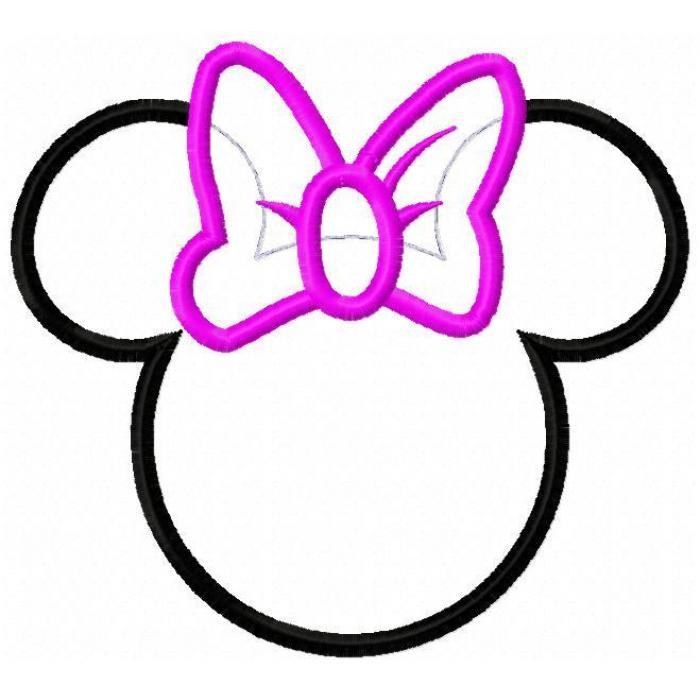 Minnie Mouse Bow Cut Out   Clipart Panda   Free Clipart Images