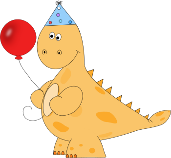 Dinosaur Birthday Clipart - Clipart Kid