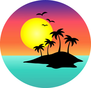 Palm Tree Sunset Clipart   Clipart Panda   Free Clipart Images