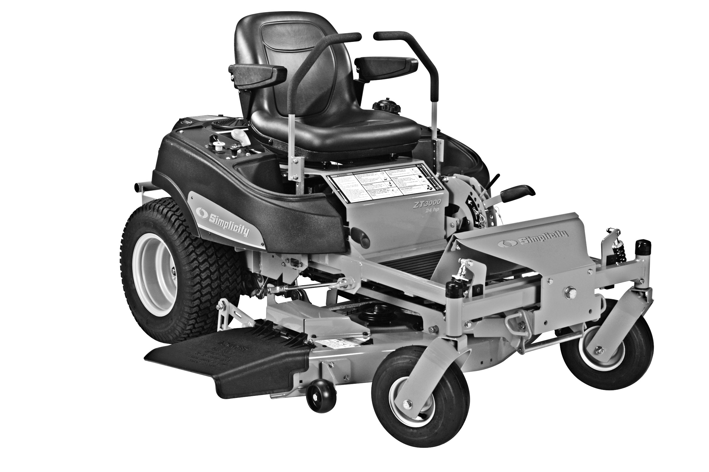 Zero Turn Mower Clipart - Clipart Suggest