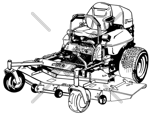 Riding Lawn Mower Clip Art