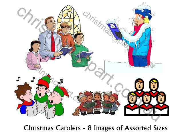 Christmas Singers Clipart - Clipart Kid