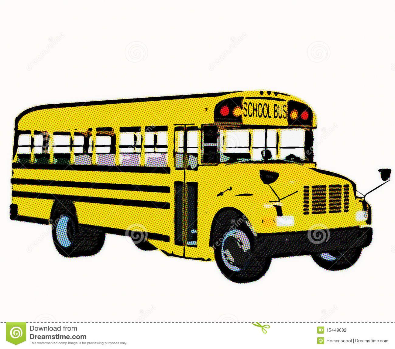 yellow bus clipart - photo #31