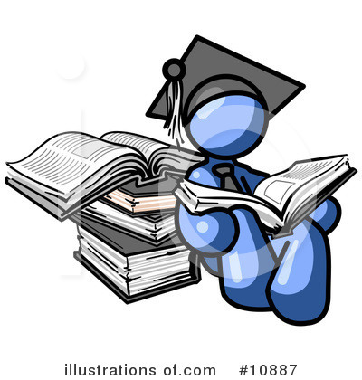 Academic Clipart Man Clipart Illustration