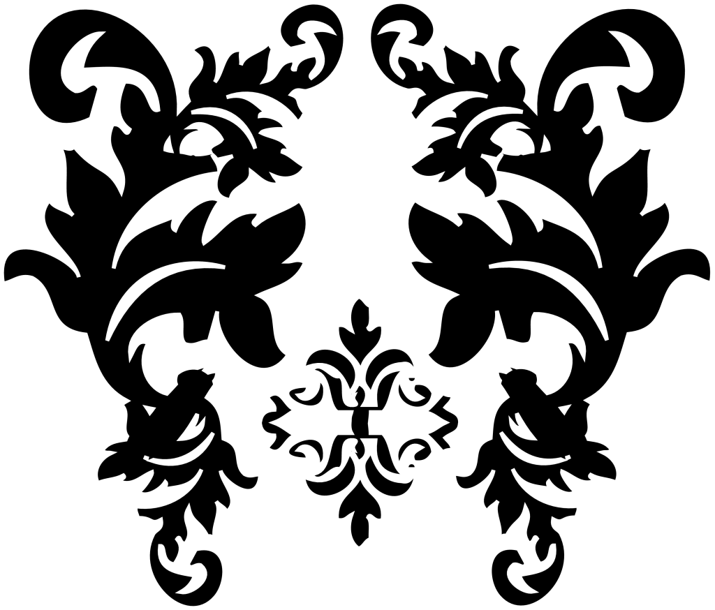 Black Damask Graphics Pictures Images For Myspace Layouts   Black