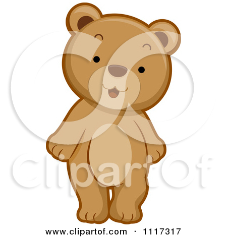 Clipart Bear Standing Images & Pictures - Becuo