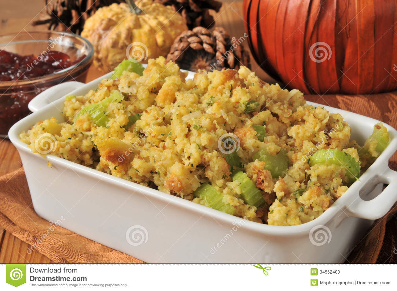 Cornbread Stuffing Royalty Free Stock Photos   Image  34562408