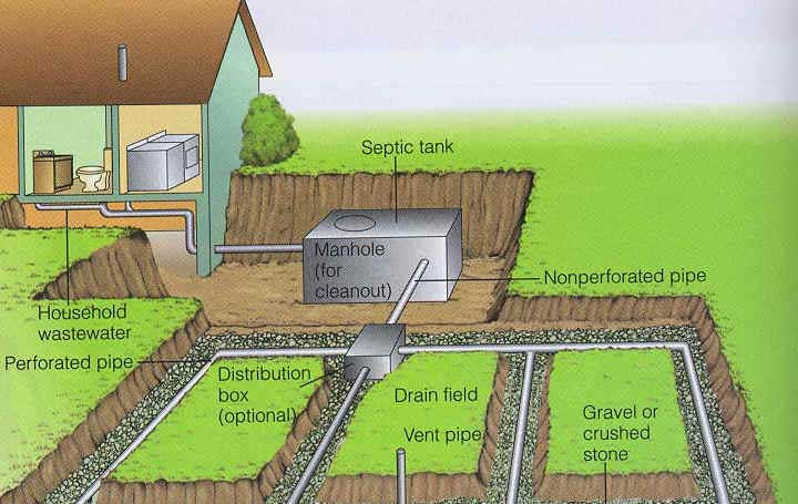 Drain Field   Image Source  Http   Average Cost To Pump Septic Tank