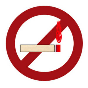 Free Clipart Image Of A No Smoking Sign  This Universal Symbol