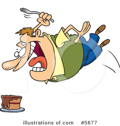 Hungry Person Clipart