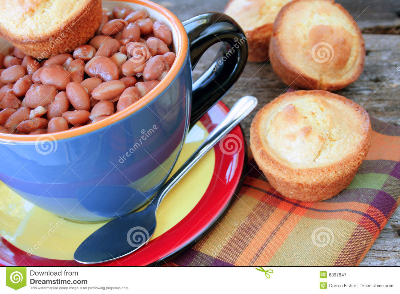 Pinto Beans Royalty Free Stock Photography   Image  6897847
