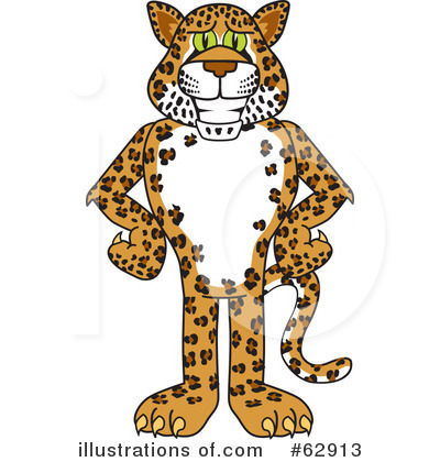 Royalty Free  Rf  Leopard Character Clipart Illustration By Toons4biz