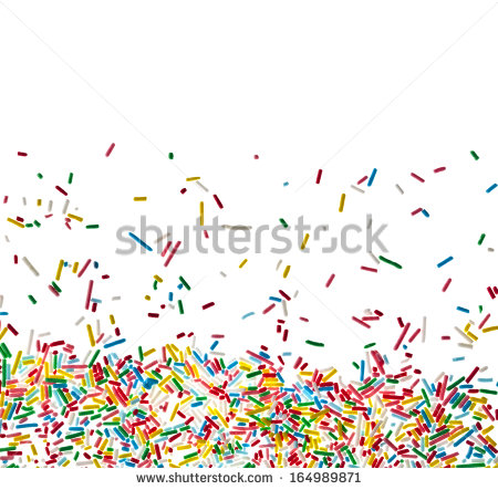 Sprinkles Border Clipart Border Frame Of Colorful Candy